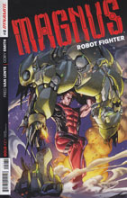Image: Magnus: Robot Fighter #2 (50-copy incentive cover - Stephen Segovia Art) - Dynamite