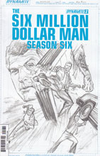 Image: Six Million Dollar Man Season 6 #2 (15-copy incentive cover - Alex Ross Art Board) - Dynamite