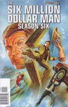 Image: Six Million Dollar Man Season 6 #2 (Kuhoric signed 35-copy incentive cover) - Dynamite