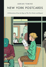 Image: New York Postcards by Adrian Tomine  -