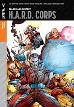 Image: Valiant Masters: H.A.R.D. Corps Vol. 01: Search & Destroy HC  - Valiant Entertainment LLC