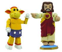 Image: View Askewniverse Minimates: Buddy Christ & Mooby 2-Pack  -