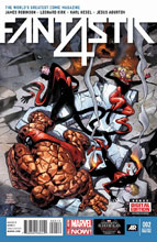 Image: Fantastic Four #2 (variant 2nd printing cover - Leonard Kirk)  [2014] - Marvel Comics