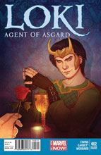 Image: Loki: Agent of Asgard #2 (variant 2nd printing cover - Jenny Frison) - Marvel Comics