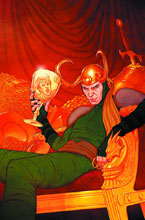 Image: Loki: Agent of Asgard #3 (variant 2nd printing cover - Jenny Frison) - Marvel Comics