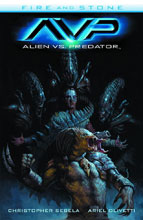 Image: Alien vs. Predator: Fire and Stone SC  - Dark Horse Comics