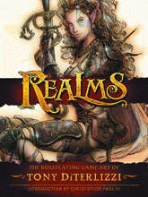 Image: Realms: The Roleplaying Game Art of Tony Diterlizzi HC  - Dark Horse Comics