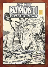 Image: Jack Kirby's Kamandi, The Last Boy on Earth Artist's Edition HC  - IDW Publishing