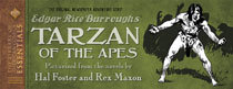 Image: Library of American Comics Essentials Vol. 07: Tarzan of the Apes by Edgar Rice Burroughs HC  - IDW Publishing