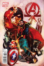 Image: New Avengers #33 (Harris variant cover - 03331) - Marvel Comics