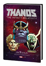 Image: Thanos: The Infinity Relativity HC  - Marvel Comics