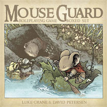 Image: Mouse Guard Roleplaying Game Boxed Set HC  (2nd edition) - Boom! Studios