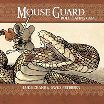 Image: Mouse Guard Roleplaying Game: Second Edition HC  - Boom! Studios