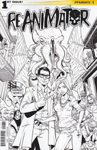 Image: Reanimator #1 (Seeley b&w variant incentive cover - 01031) (10-copy) - Dynamite