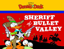 Image: Walt Disney's Donald Duck: The Sheriff of Bullet Valley SC  - Fantagraphics Books