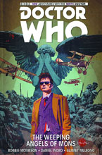 Image: Doctor Who: 10th Doctor Vol. 02: Weeping Angels of Mons HC  - Titan Comics