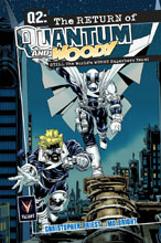 Image: Q2: The Return of Quantum and Woody Deluxe Edition HC  - Valiant Entertainment LLC