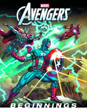 Image: Avengers: Beginnings HC  - Marvel Press