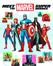 Image: Meet the Marvel Super Heroes HC  (2nd edition) - Marvel Press