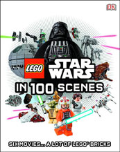 Image: Lego Star Wars in 100 Scenes HC  - DK Publishing Co
