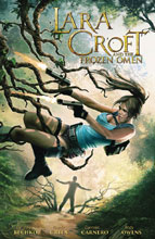 Image: Lara Croft and the Frozen Omen SC  - Dark Horse Comics