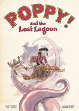 Image: Poppy! and the Lost Lagoon SC  - Dark Horse Comics
