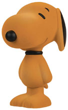Image: Snoopy Flocked Vinyl Figure: Ginger  (5.5-inch) - Dark Horse Comics