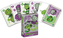 Image: Plants vs. Zombies Playing Cards  - Dark Horse Comics