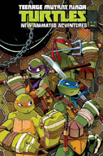 Image: Teenage Mutant Ninja Turtles: New Animated Adventures Omnibus Vol. 01 SC  - IDW Publishing