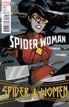 Image: Spider-Woman #6 (variant cover - Rodriguez) - Marvel Comics