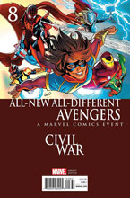 Image: All-New, All-Different Avengers #8 (Land Civil War variant cover)  [2016] - Marvel Comics