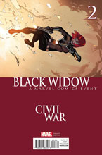 Image: Black Widow #2 (Bengal Civil War variant cover) - Marvel Comics