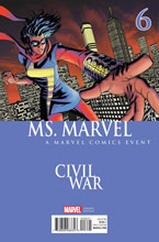Image: Ms. Marvel #6 (McKone Civil War variant cover) - Marvel Comics