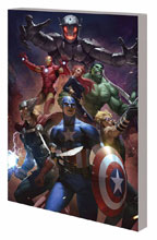 Image: Avengers K Book 01: Avengers vs. Ultron SC  (Lee variant) - Marvel Comics