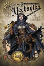 Image: Lady Mechanika Vol. 02: The Tablet of Destinies SC  - Benitez Productions