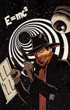 Image: Twilight Zone: The Shadow #1 (variant incentive cover B - Virgin) (10-copy) - Dynamite