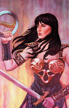 Image: Xena: Warrior Princess #1 (Frison virgin variant incentive cover - 01041) (25-copy)  [2016] - Dynamite