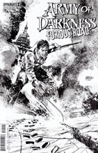 Image: Army of Darkness Furious Road #2 (variant incentive cover B - Hardman B&W) (10-copy)  [2016] - Dynamite