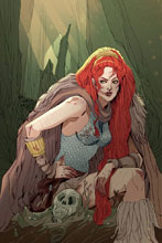 Image: Red Sonja Vol. 3 #4 (variant cover - rare Sauvage virgin art edition)  [2016] - Dynamite