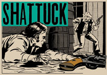 Image: Wallace Wood Presents Shattuck HC  - Fantagraphics Books