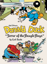 Image: Walt Disney's Donald Duck: Terror of the Beagle Boys HC  - Fantagraphics Books