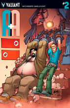 Image: A&A: The Adventures of Archer & Armstrong #2 (cover A - Lafuente) - Valiant Entertainment LLC