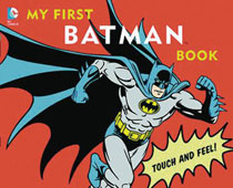 Image: My First Batman Book Board Book HC  - Downtown Bookworks