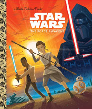 Image: Star Wars Little Golden Book: The Force Awakens  - Random House Books For Young R