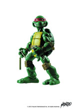Image: Teenage Mutant Ninja Turtles Collectible Figure: Michelangelo  (1/6-scale) - Mondo Tees LLC