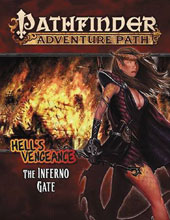 Image: Pathfinder Adventure Path: Hell's Vengeance - The Inferno Gate  - Paizo, Inc