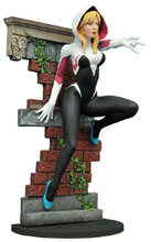 Image: Marvel Gallery San Diego Comic-Con 2016 PVC Figure: Spider-Gwen  (Unmasked) - Diamond Select Toys LLC