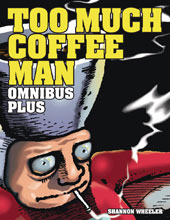 Image: Too Much Coffee Man Omnibus Plus HC  - Dark Horse Comics