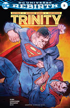 Image: Trinity #8 (variant cover - Bill Sienkiewicz) - DC Comics