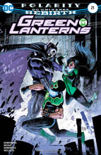 Image: Green Lanterns #21 - DC Comics